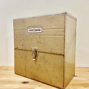 Vintage_CRAFTSMAN_TOOL BOX【407】