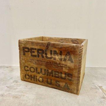 Vintage_WoodBox(ビンテージ木箱PERUNA)【476】