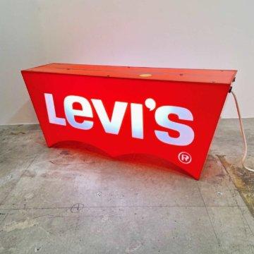 Vintage_Levi's_advertisingSign(リーバイスアドバタイジングサイン)【104】