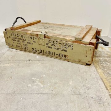 Vintage_U.S.military_WoodBox【367】