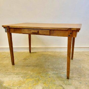 Wood dining table(ビンテージ_ウッド_ダイニングテーブル)【432】