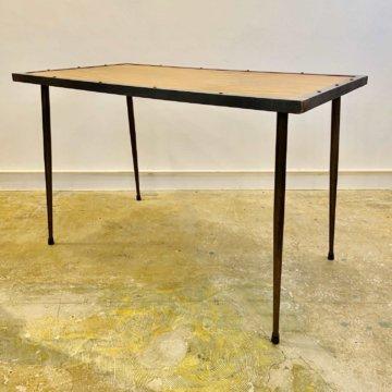 Vintage_Iron Woodtable(アイアンウッドテーブル)【505】