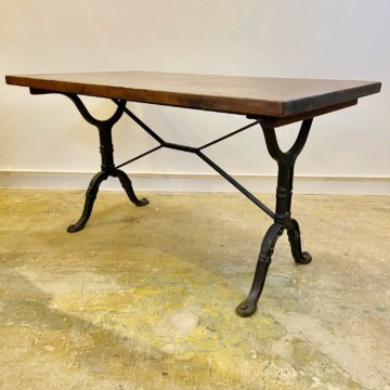 Vintage_Iron leg table(アイアンレッグテーブル)【465】