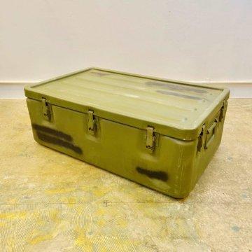 U.S. Milita Military Aluminum Container Box【527】
