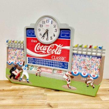 Vintage_CocaCola_ wallClock(コカ・コーラ_ウォールクロック)【487】