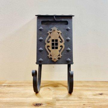 USA_Vintage_IronMailbox(ビンテージ_アイアンメールボックス)【913 】