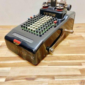 Vintage_VICTOR ADDING MACHINE【1186】