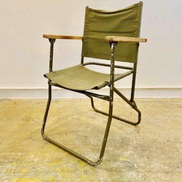 Vintage_Military_folding chair(ビンテージフォールディングチェア)【343】
