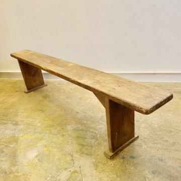 Vintage_Wood Bench(ビンテージウッドベンチ)【598】