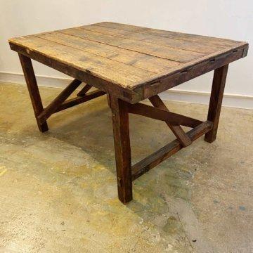 Vintage_Wood Work table(ビンテージワークテーブル)【244】