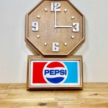 Vintage_PEPSI_ wallclock(ビンテージ_ペプシ壁掛け時計)【1994】