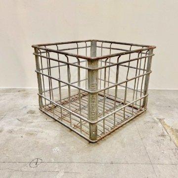 Vintage_Wire basket【516】