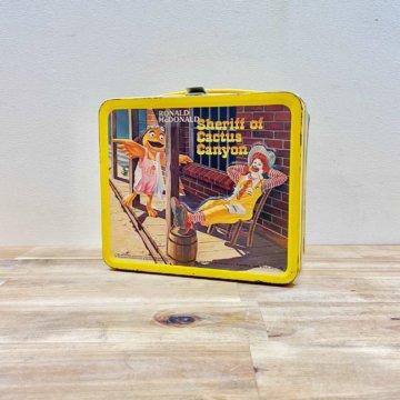 Aladdin McDonald's Tin Lunch Box(アラジン_マクドナルド_ランチbox)【561】