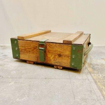 Vintage_military_WoodBox(ビンテージミリタリーボックス_ポーランド)【356】
