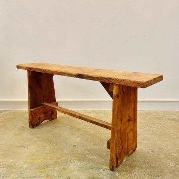 Vintage_Wood Bench(ビンテージウッドベンチ)【1981】