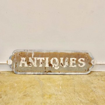 Antique signboard(アンティーク看板)【2004】