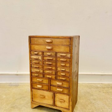 Vintage _Wood_cabinet【1982】