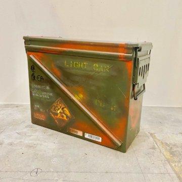 Military box(ビンテージ_ミリタリーBOX)【509】
