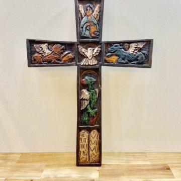 Wood cross 【954】