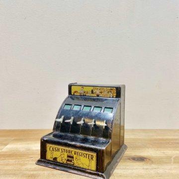 Vintage _Toy Cash Store Register 【2342】