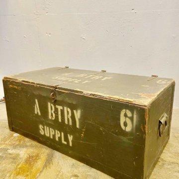 U.S military FOOT LOCKER BOX【396】