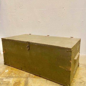 U.S military FOOT LOCKER BOX【511】