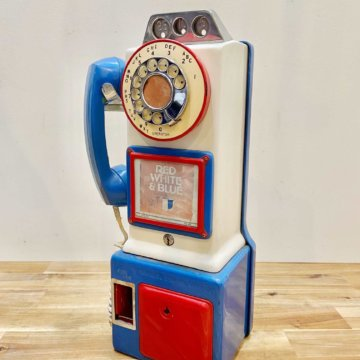 USA_Vintage_Public phone(ビンテージ公衆電話)【2014】