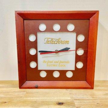 Telechron Vintage wall clock 【101】