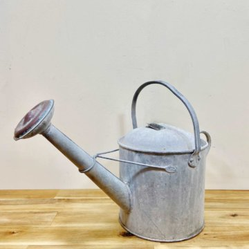 Vintage_Tin watering can【2966】