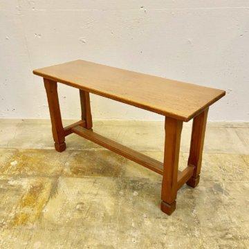 Vintage_Wood Bench【2939】