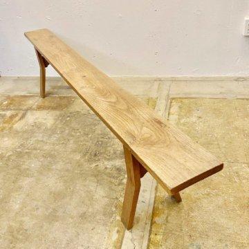 Vintage_Wood Bench【2938】