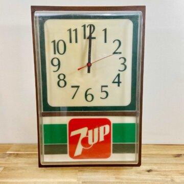 7UP_wall clock【3337】