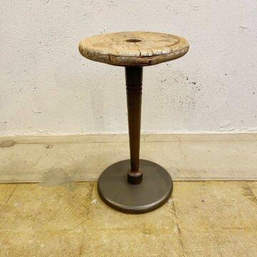 Iron & wood stool【3268】