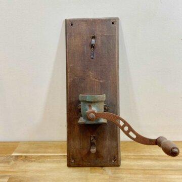 Vintage_Coffee mill_objet【3206】