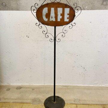 Iron_CafeSign【3267】