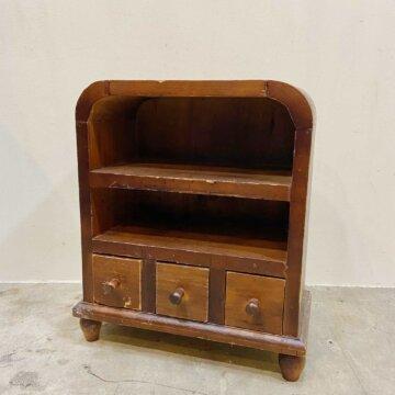 Vintag_Wood shelf【3458】