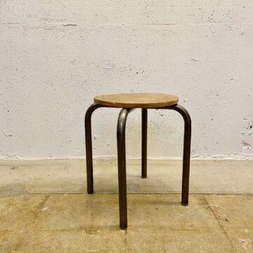 Iron &wood stool【3493】