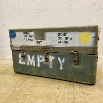 U.S. Milita Military Aluminum Container Box【526】