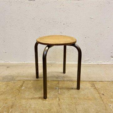 Iron &wood stool【3494】