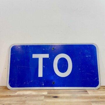 Vintage_Road sign【4146】