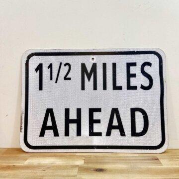 Vintage_Road sign【4152】