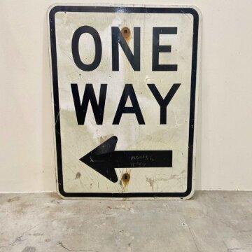 Vintage_Road sign【4148】