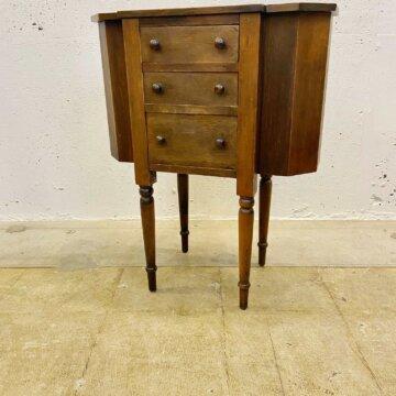 Vintage _Wood_cabinet【4353】