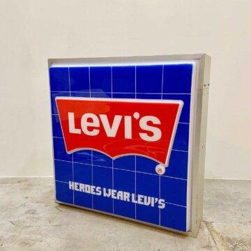 Vintage_Levi's_advertisingSign【4362】