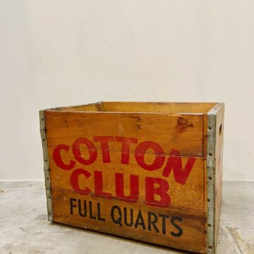 COTTON CLUB_WoodBox【4178】