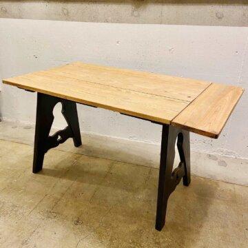 Vintage Wood table【4828】