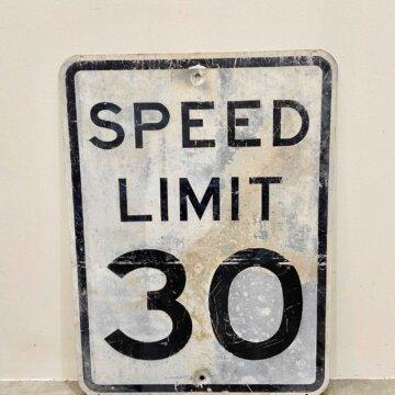 Vintage_Road sign【4155】