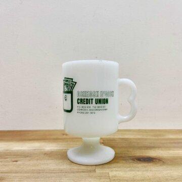 milk glass mug【5027】