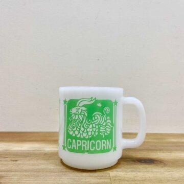milk glass mug【2490】