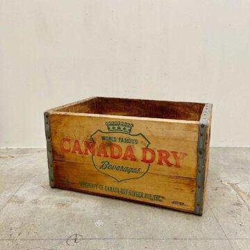 CANADA DRY_WoodBox【5197】